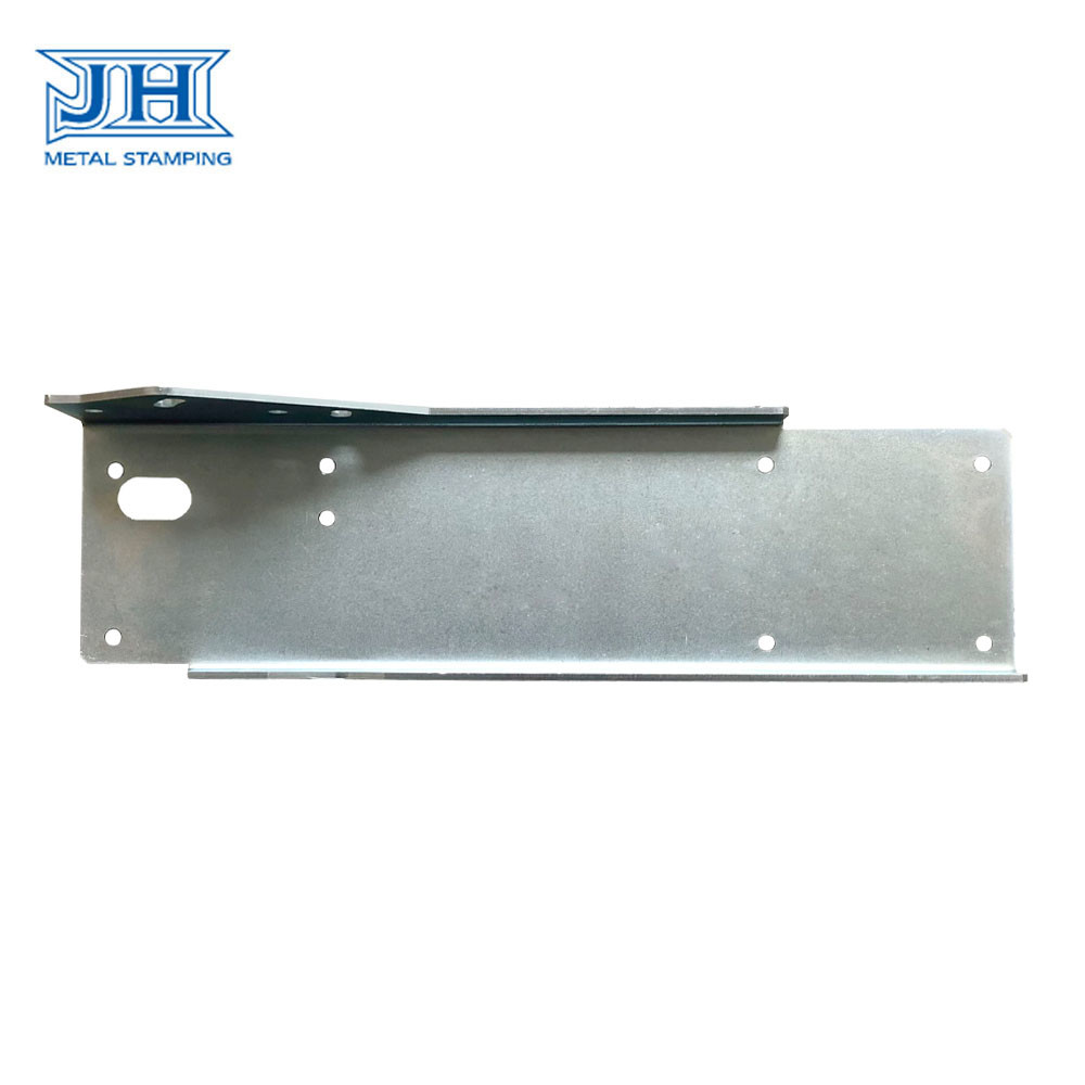 OEM Zinc Powder Coating Bending Elevator Fixing Bracket According Drawings