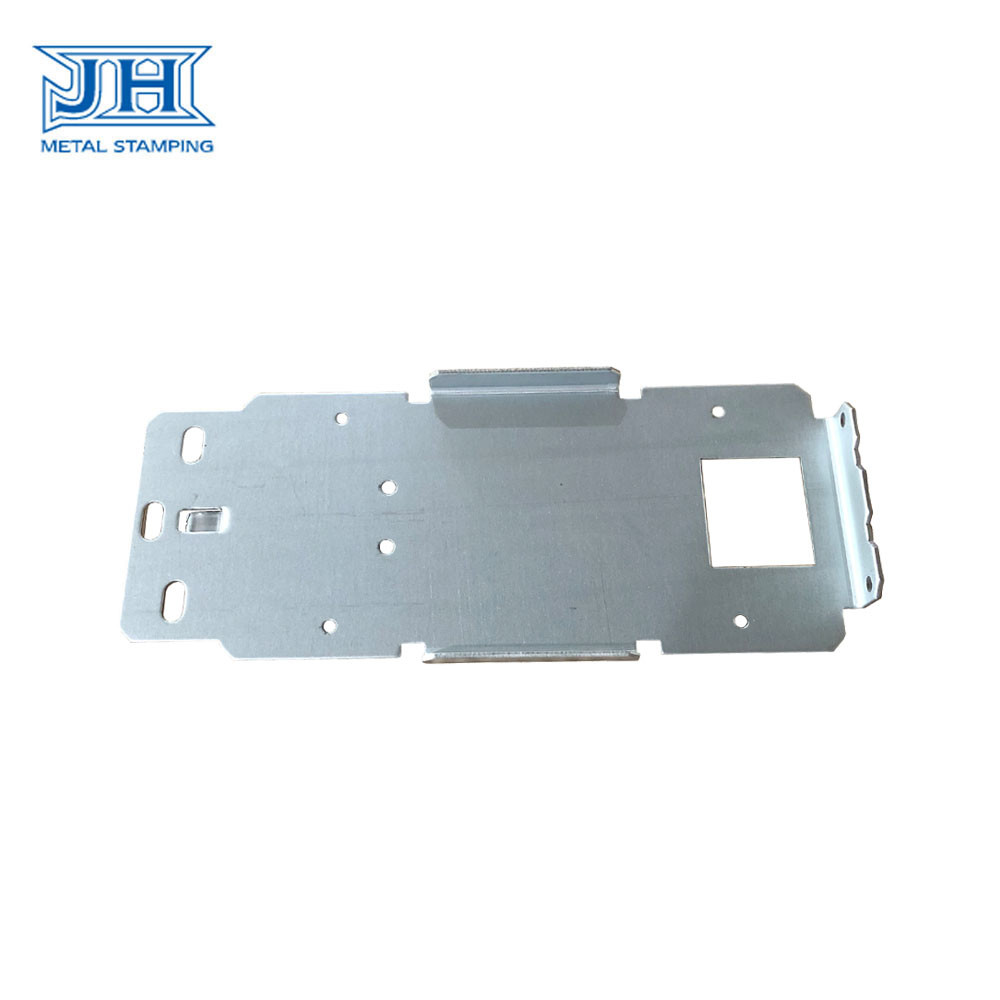 Sheet Steel Metal Stamping Parts Zinc Plating Surface SGS Certification