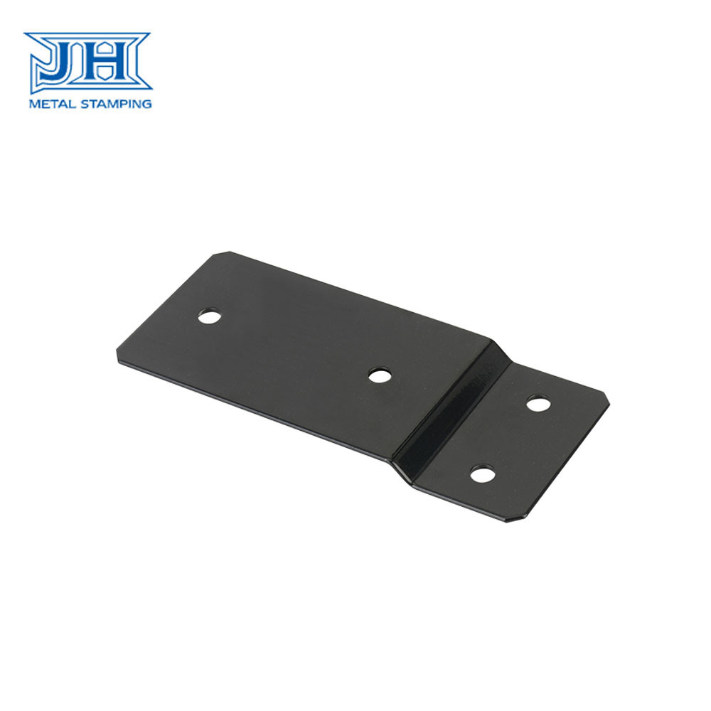 Black Refrigeration Equipment Parts , Sheet Metal Steel Spare Parts