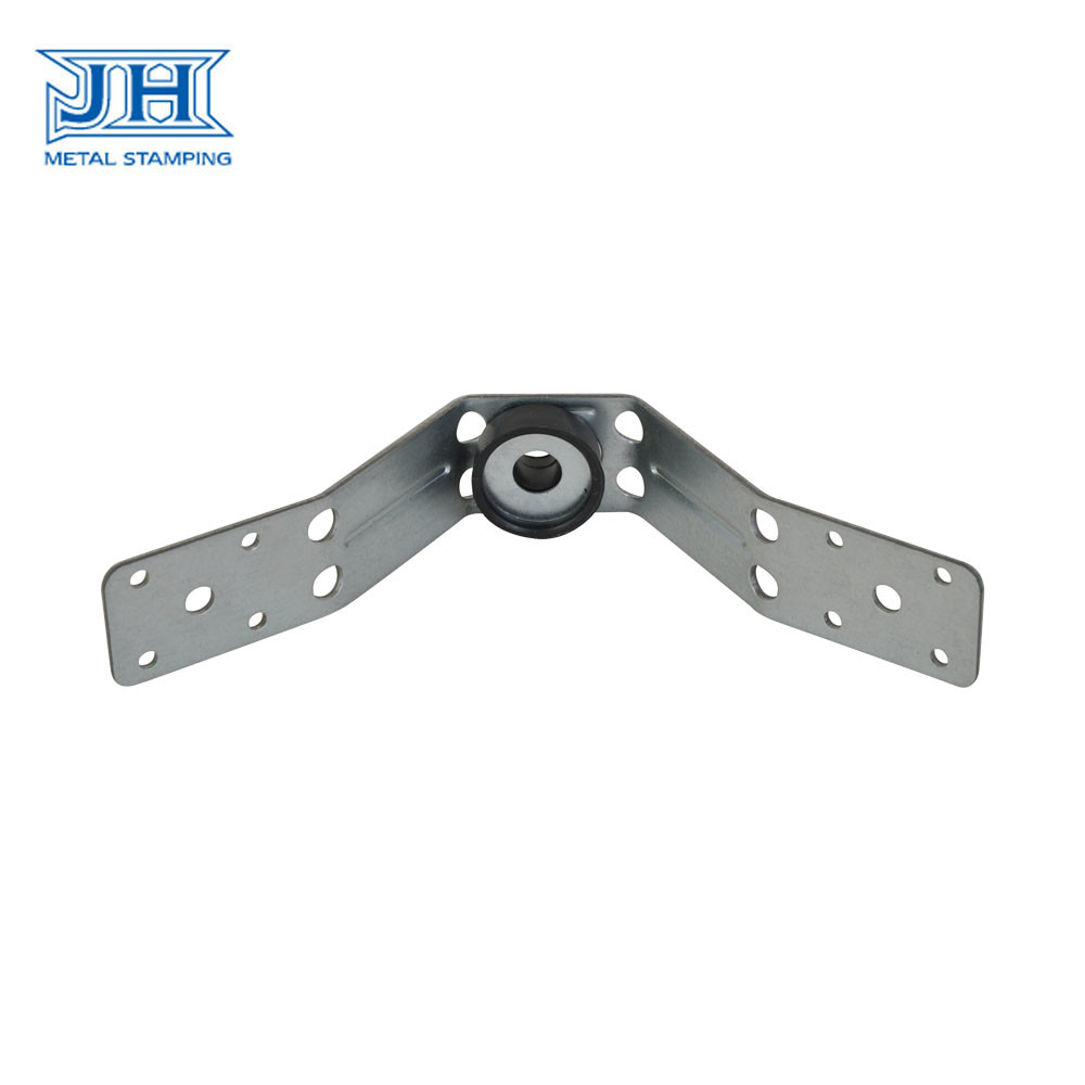 R Holder Galvanized Steel Assembly Parts For Spiral And Rectangular Duct Suspension